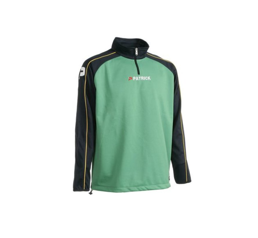 Granada101 top training sweater Groen/zwart