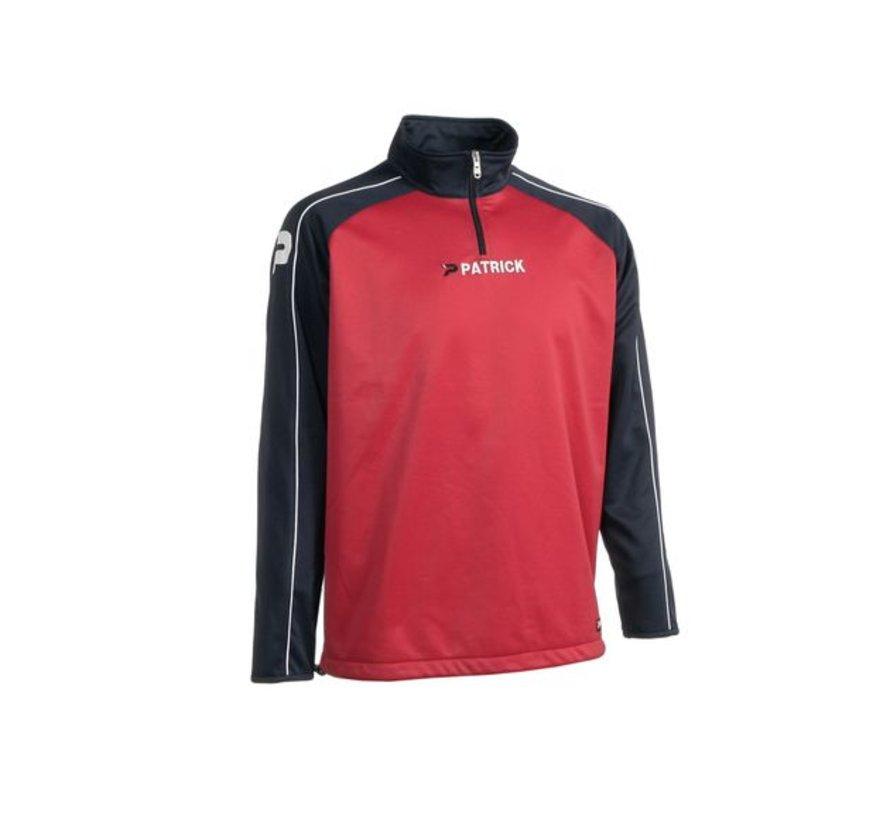 Granada101 top training sweater Rood/Navy