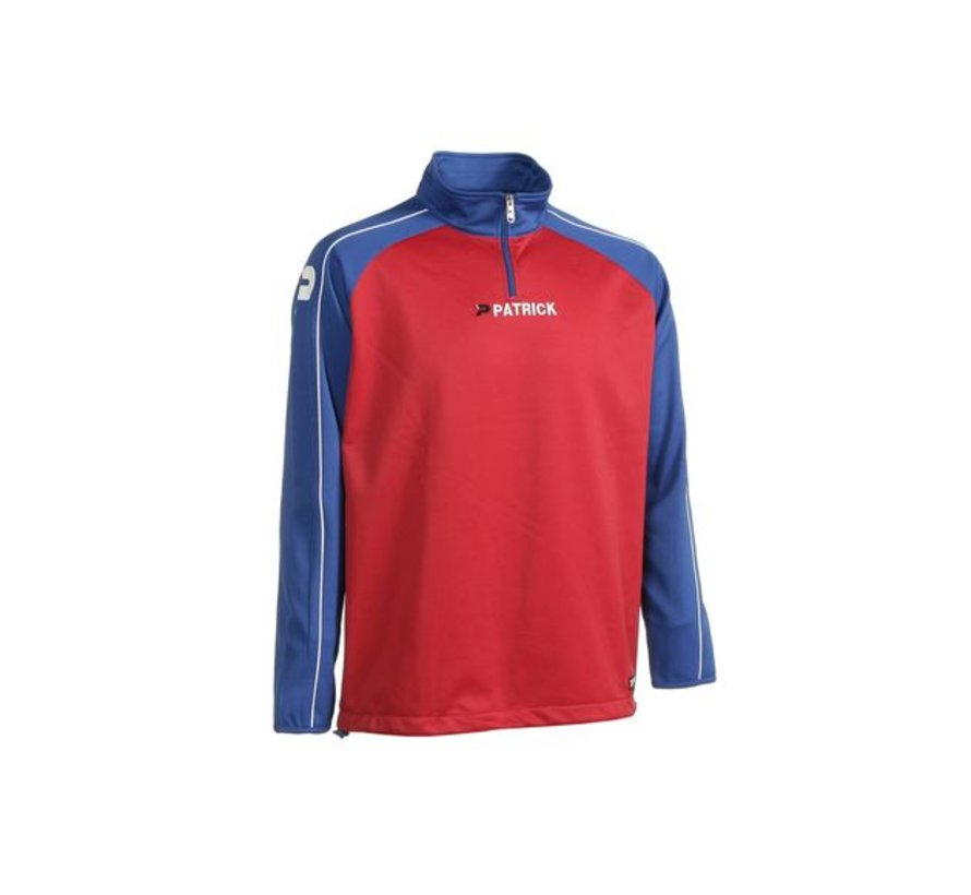 Granada101 top training sweater Rood/Royal blue