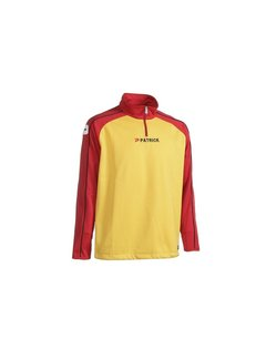 Patrick Granada101 top training sweater Rood/geel