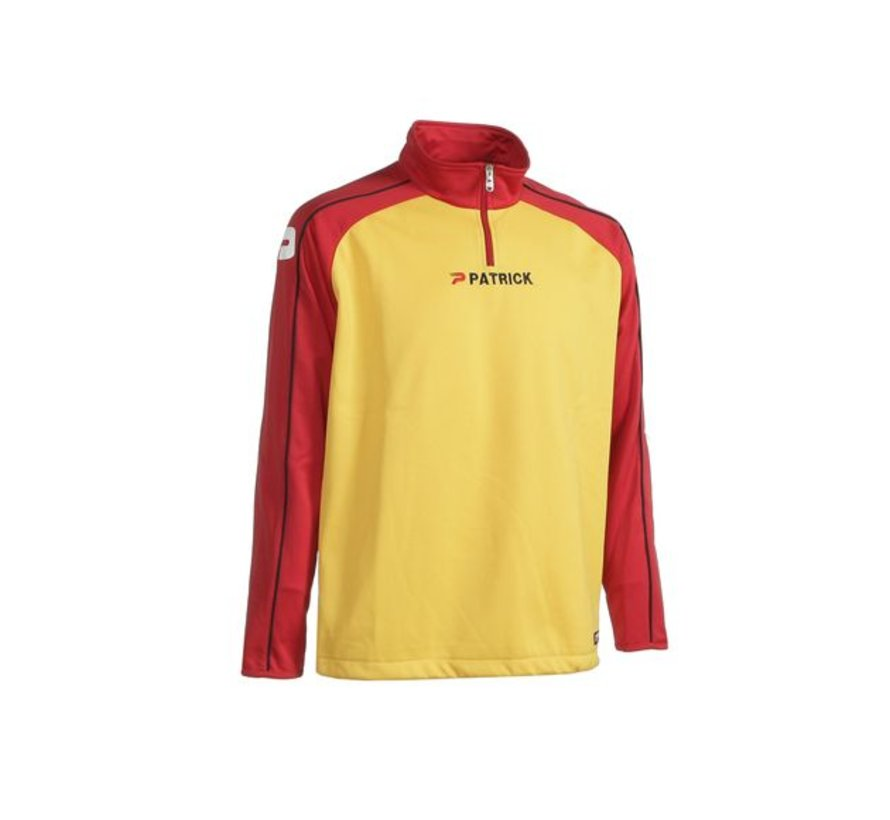 Granada101 top training sweater Rood/geel
