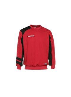 Patrick Victory110 sweater Rood/zwart