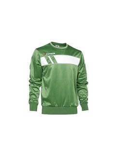 Patrick IMPACT125  sweater Groen/wit