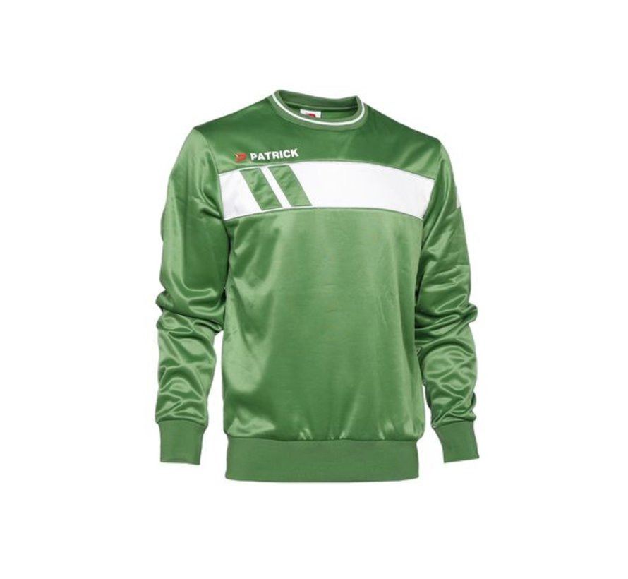 IMPACT125  sweater Groen/wit
