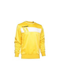 Patrick IMPACT125  sweater Yellow/wit