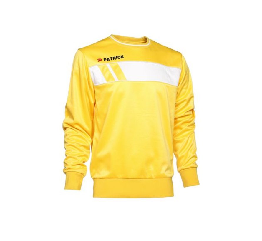 IMPACT125  sweater Yellow/wit