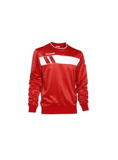 Patrick IMPACT125  sweater Rood/wit