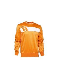 Patrick IMPACT125  sweater Oranje/wit