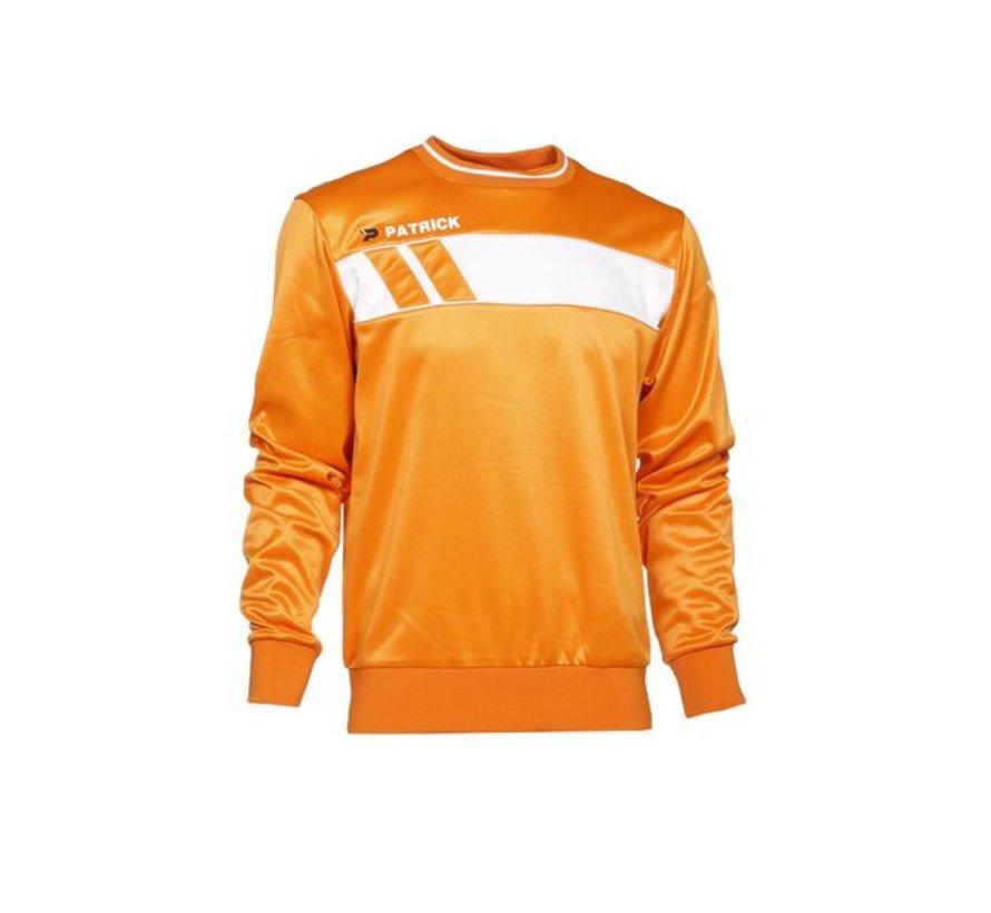 IMPACT125  sweater Oranje/wit