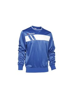 Patrick IMPACT125  sweater Royal blue/wit