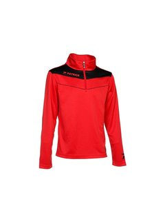 Patrick POWER130  sweater Rood/zwart