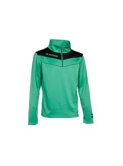 Patrick POWER130  sweater Groen/zwart