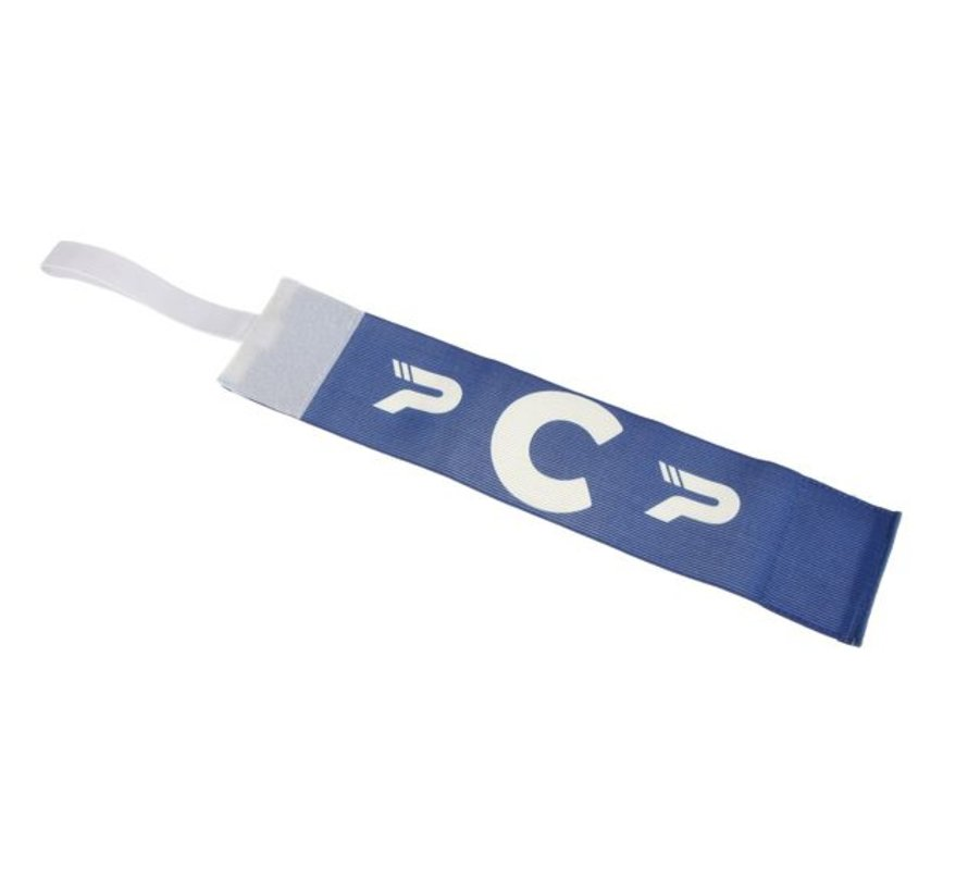 Aanvoerdersband CAPTAIN801 Royal Blue / white