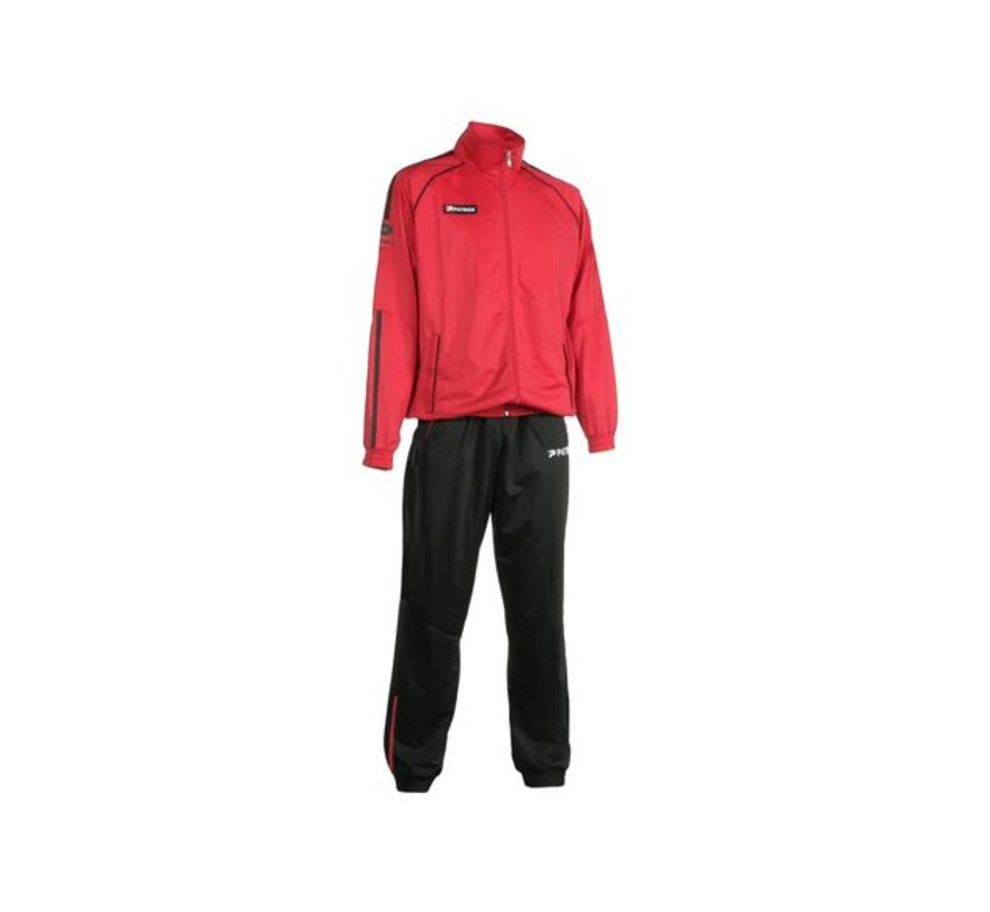 Girona401 trainingspak Rood/zwart