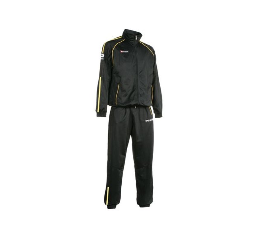Girona401 trainingspak Zwart/geel