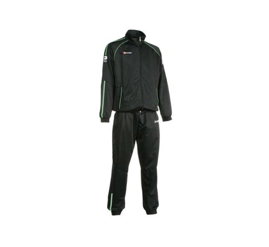 Girona401 trainingspak Zwart/groen