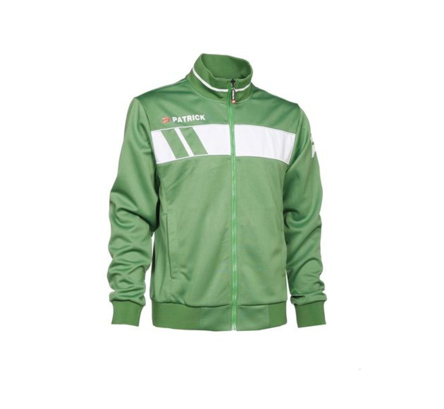 Impact101 trainingsjas groen/wit