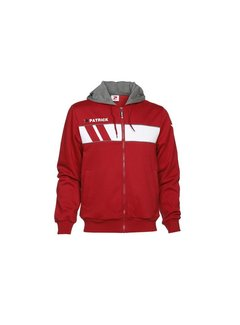 Patrick IMPACT210 cotton hoody rood