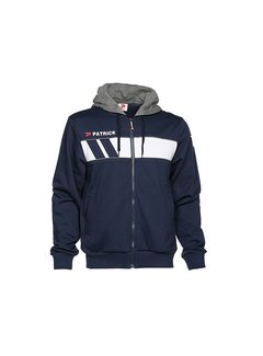 Patrick IMPACT210 cotton hoody Navy