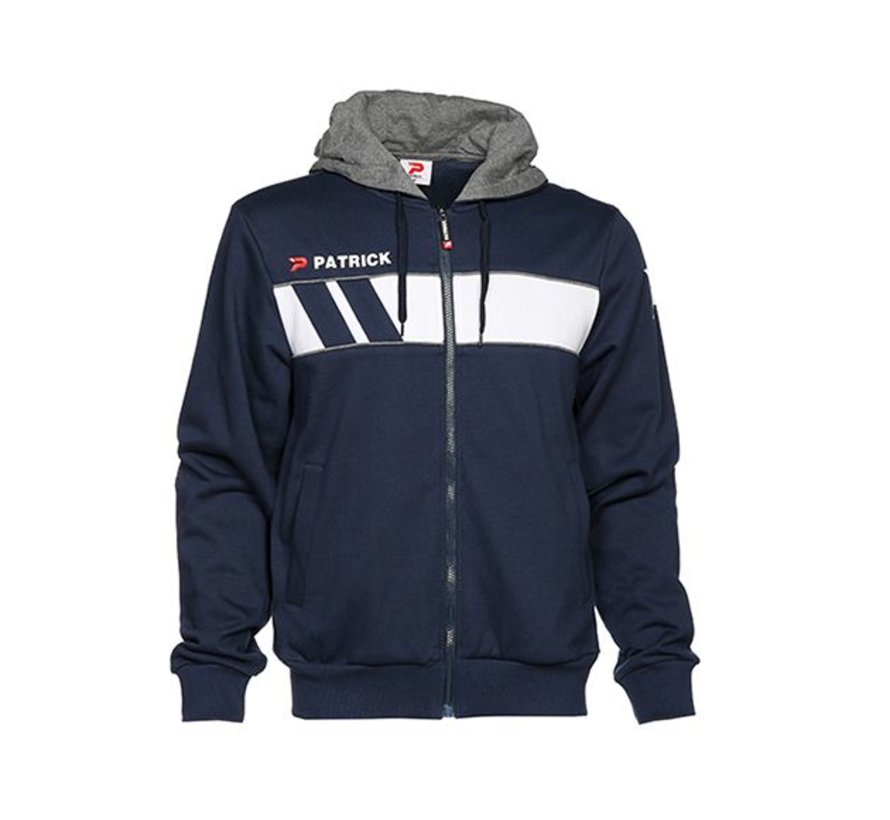 IMPACT210 cotton hoody Navy