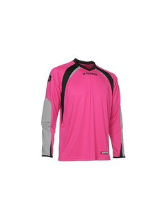 Patrick CALPE110  Keepers shirt Fuxia/grijs