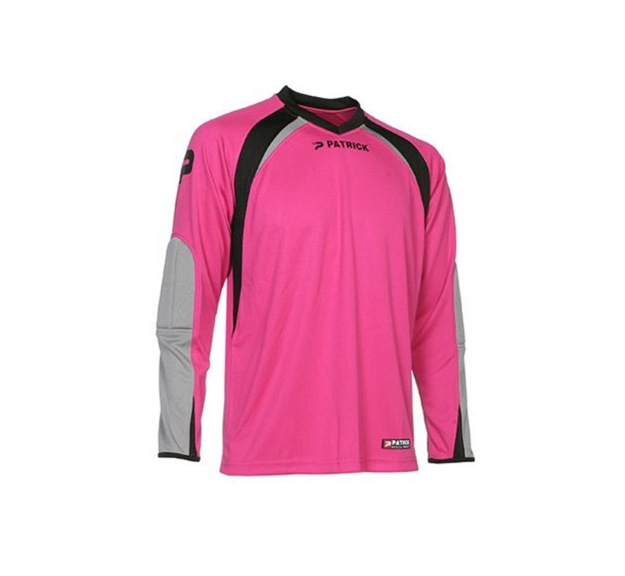 CALPE110  Keepers shirt Fuxia/grijs