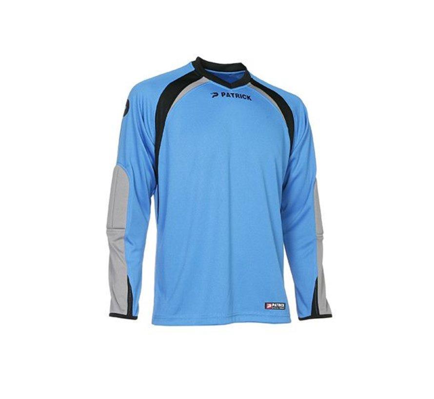 CALPE110  Keepers shirt Blauw/grijs