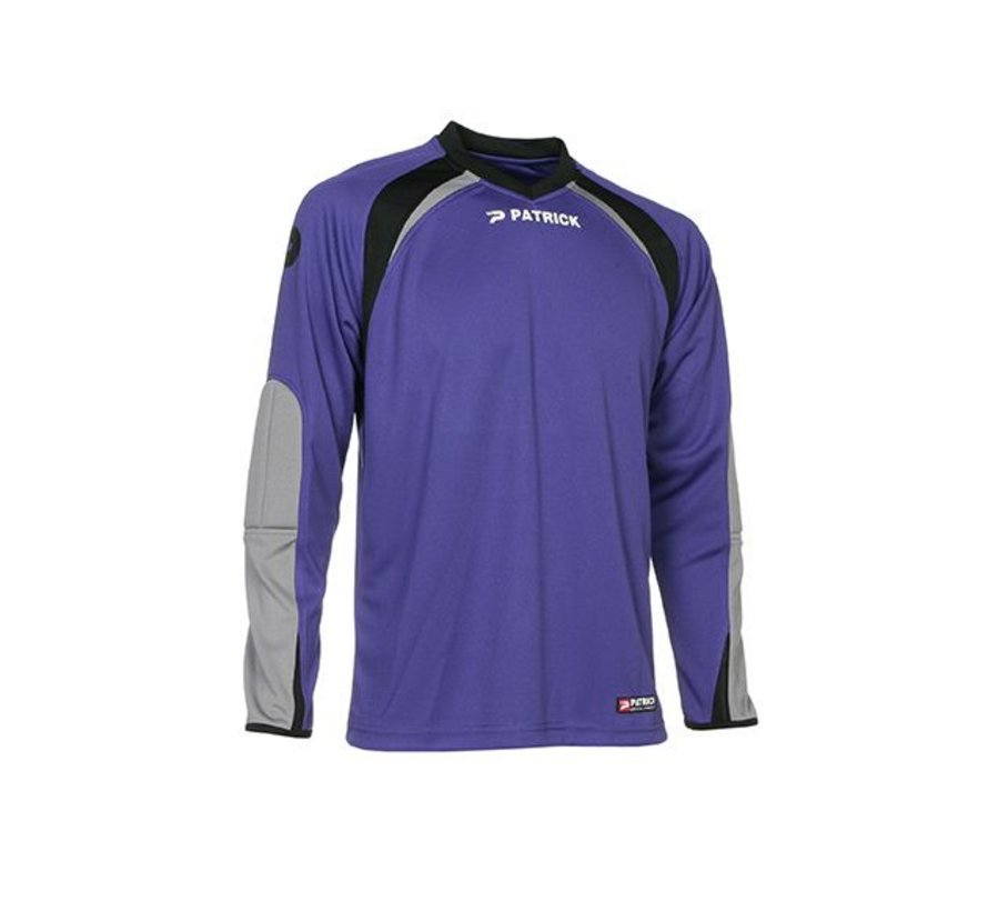 CALPE110  Keepers shirt Violet/grijs