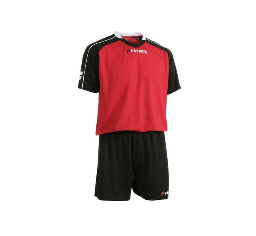 GRANADA301 Voetbaltenue Zwart/rood