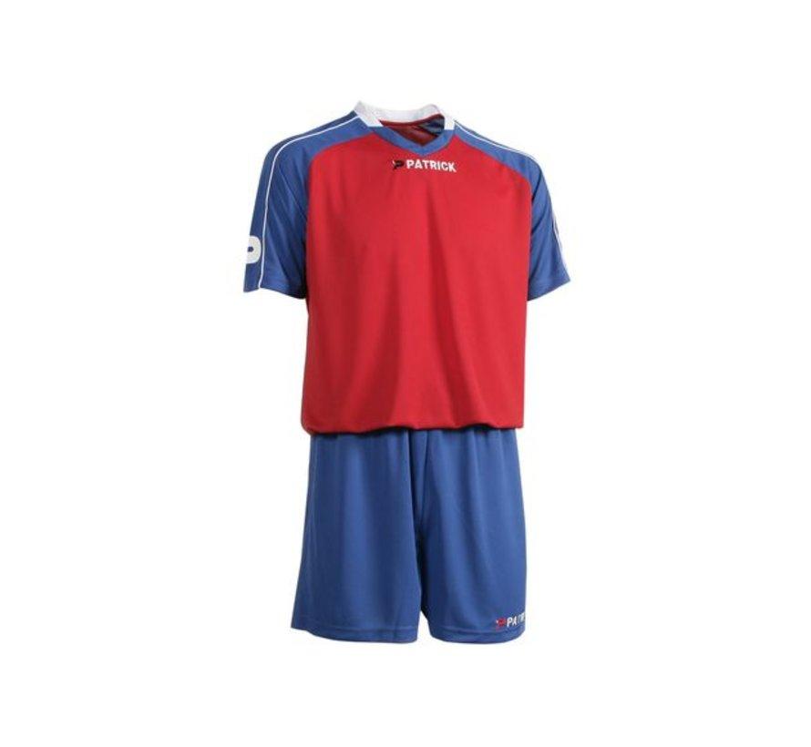 GRANADA301 Voetbaltenue Royal blue/rood/wit