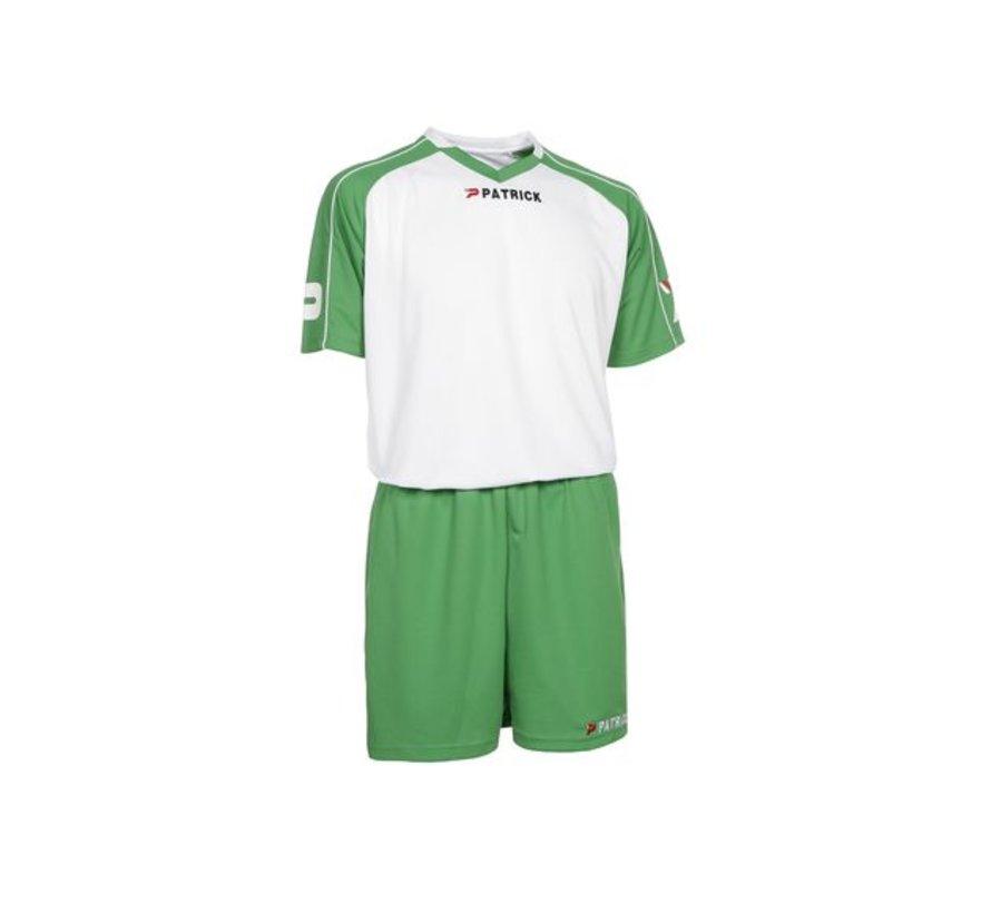 GRANADA301 Voetbaltenue Wit/groen
