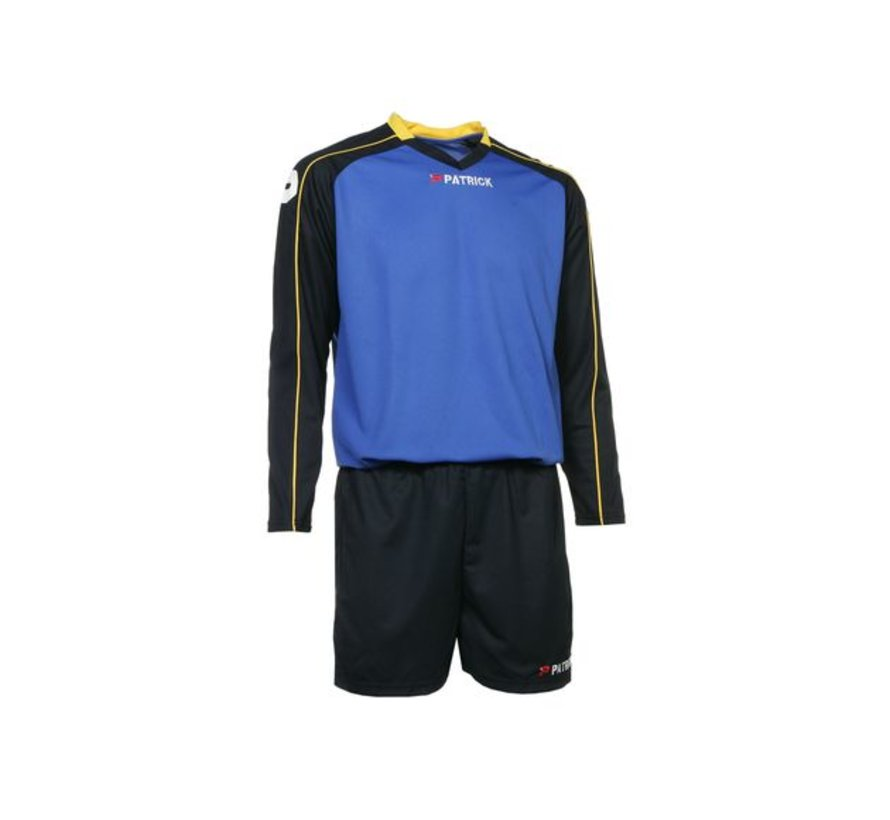 GRANADA305 Voetbaltenue Navy/royal blue/geel