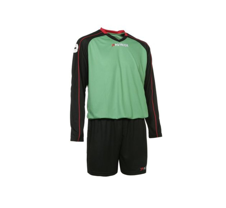 GRANADA305 Voetbaltenue Zwart/groen/rood