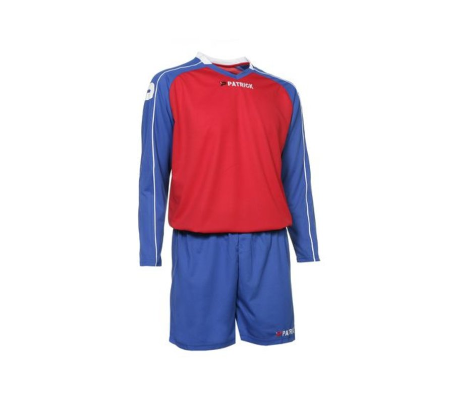 GRANADA305 Voetbaltenue Royal blue/rood