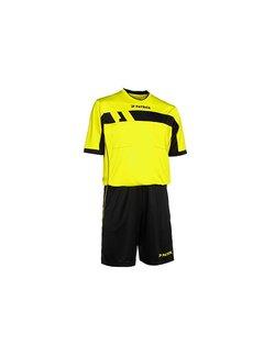 Patrick REF520 scheidsrechter tenue Fluo geel