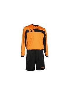 Patrick REF525 scheidsrechter tenue lange mouw Oranje