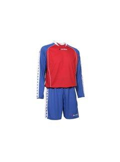 Patrick MADRID305 Voetbaltenue lange mouw Royal blue / rood
