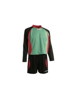 Patrick Malaga305 Voetbaltenue lange mouw Zwart / groen / rood
