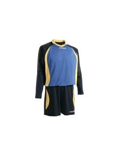 Patrick Malaga305 Voetbaltenue lange mouw Navy / Royal blue / geel