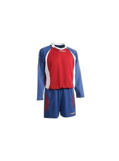 Patrick Malaga305 Voetbaltenue lange mouw Royal blue / rood / wit