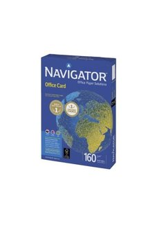 PaperFactory Kopieerpapier Navigator Office Card A3 160gr wit
