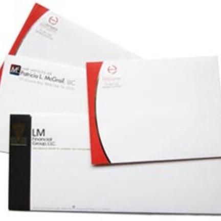 Bedrukte enveloppen voor mailingen, brieven, facturen