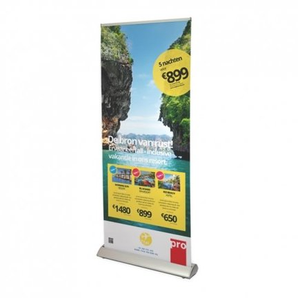 Roll-up banners Deluxe voet