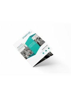 PaperFactory Folders A5 enkelvouw