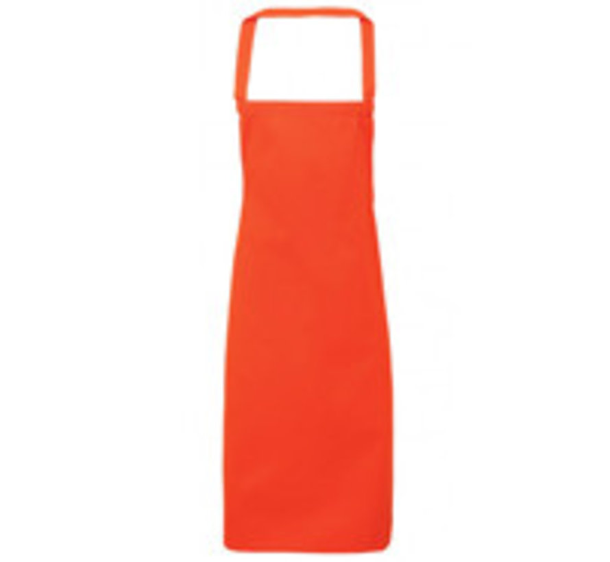 Bedrukte Oranje schorten (borst)