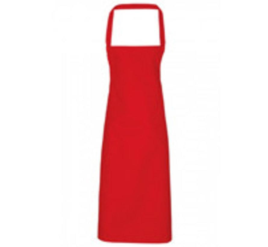 Bedrukte Rode schorten (borst)
