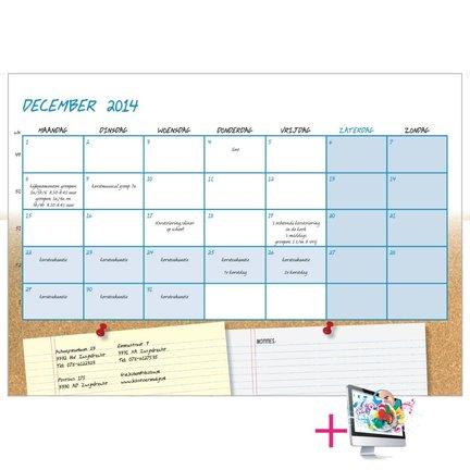 Schoolkalenders bestellen inclusief ontwerp