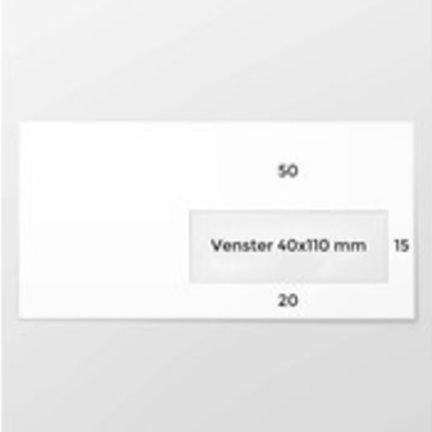 EA5/6 enveloppen voor mailingen, brieven, facturen