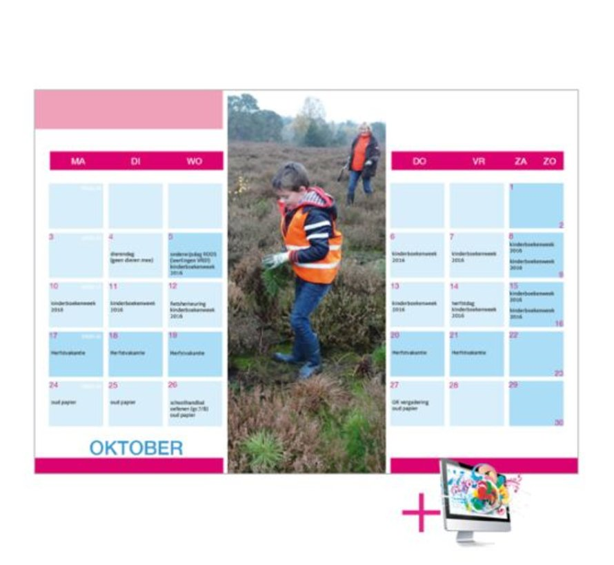 Schoolkalenders Adriaan bestellen