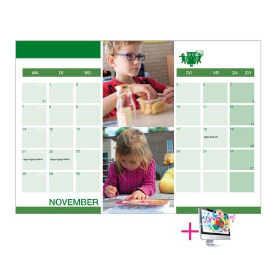 Schoolkalenders Anouk bestellen
